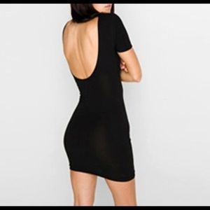 American Apparel Iconic Backless Bodycon Dress